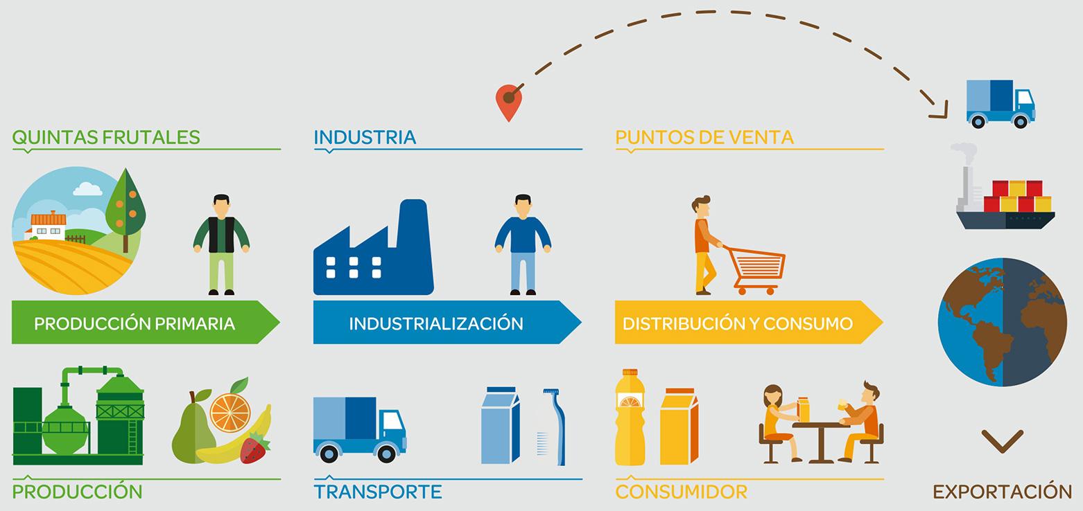 Circuito De La Leche : Secuencia sociales circuito productivo